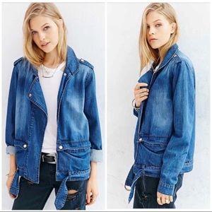 One Teaspoon x UO oversized slouchy denim jacket